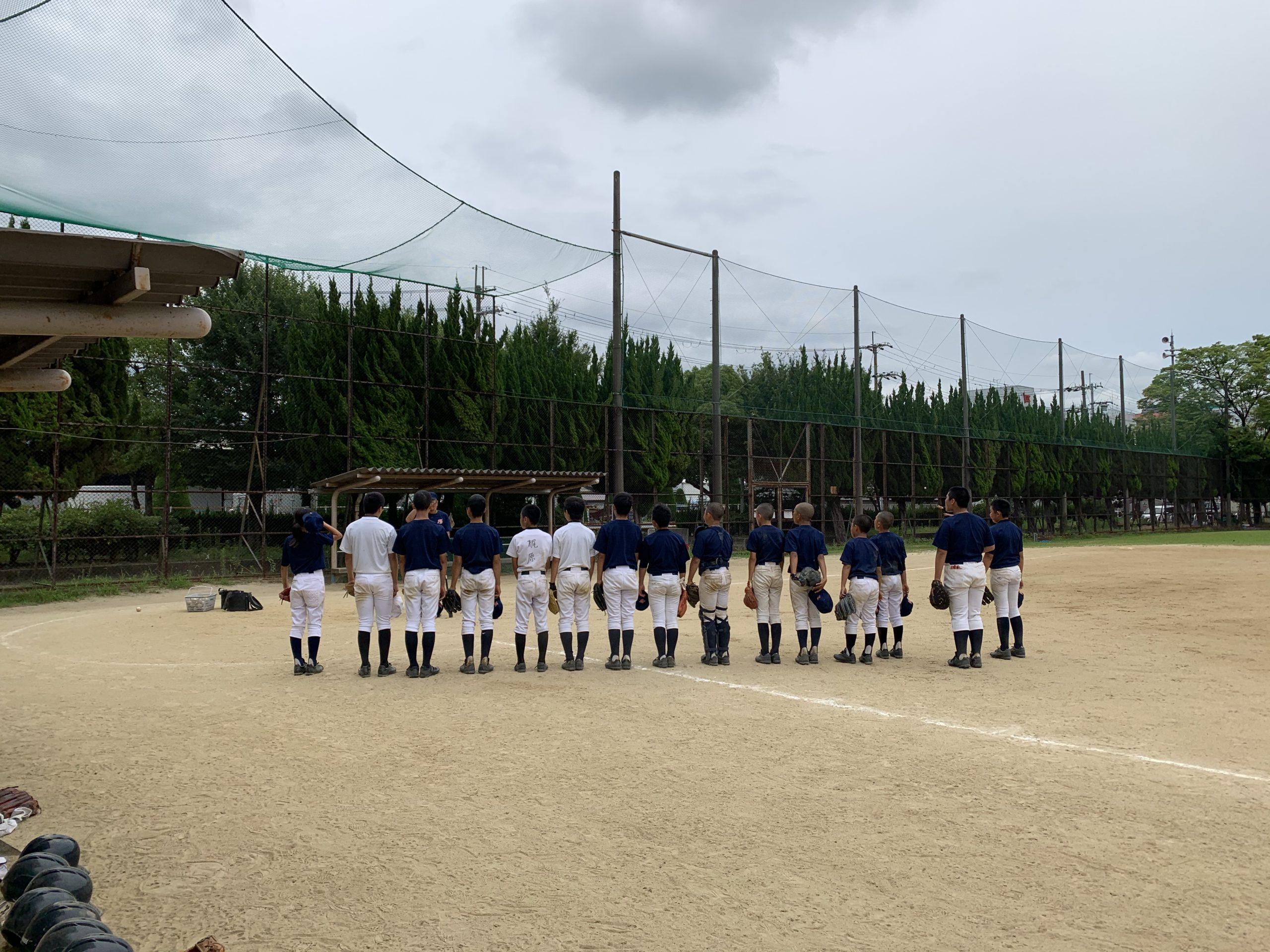 練習試合・東淀川ボーイズ